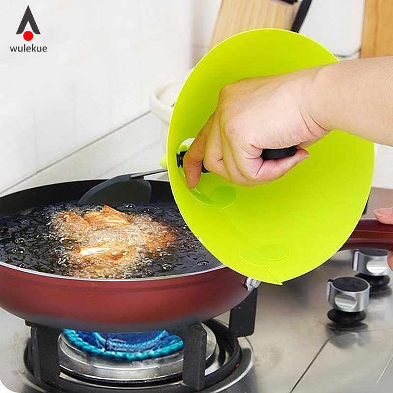 Wulekue ABS  Anti Oil Anti Splash Hand Protector Women Safety Grease Proofing Protective Restaurant Chef Kitchen Cooking Tools