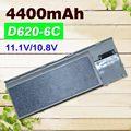 4400 мАч Аккумулятор Для Ноутбука Dell Latitude D620 D630 D631 M2300 KD491 KD492 KD494 KD495 NT379 PC764 PC765 PD685 RD300 TC030