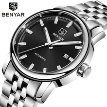 BENYAR Men's Watches Top Brand Luxury Watch Men Automatic Watch Men Mechanical Wristwatch Mens Waterproof Clock Man Reloj Hombre цены