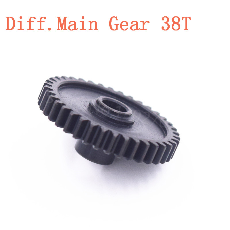 RC Wltoys Upgrade Metal Diff.Main Gear 38T A949-24 Spare Parts For 1/18 Scale Models A949 A959 A969 A979 k929 Remote Control Car