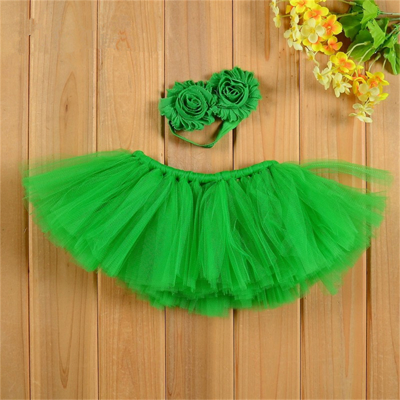 Newborn Baby Girls Tutu Skirt Costume Photo Photography Prop Outfits Photography Prop Skirt With Head Band Tutu Shower Gift