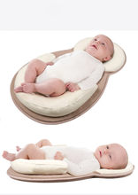 Infant Multi-function Portable Baby Cribs Newborn Travel Sleep Bag Travel Bed safe Cot Bags Portable Folding Baby Bed(China)