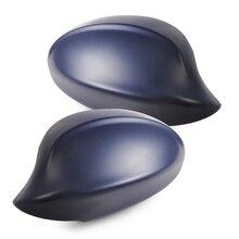 beler 2 PCS Right+Left Door Mirror Cap Cover Casing Fit for BMW 3 Series E90 E91 325i 325xi 330i 2006 328i 328xi 335i 2007 2008