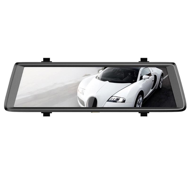 Phisung F900 10 Touch Screen 1080P HD Car DVR Camera G-sensor Dash Cam Rearview Mirror Video Recorder Parking Monitor Registrar