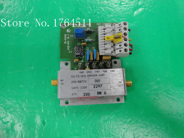 [BELLA] HARRIS 076-108723-001 5.5-7GHz 10V SMA Amplifier