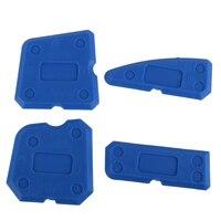 4 PCS Azul Kit Ferramenta de Calafetagem Calafetar Acabamento Conjunta Selante de Silicone Argamassa Removedor Raspador Casa & Jardim Kit de Ferramentas de Mão ferramentas|Pistola de calafetagem| |  -