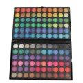 Moda Natural 120 Completa Cores Sombra Mineral Cosmetics Make Up Kit Paleta de Brilho Maquiagem Pigmento Da Sombra de Olho Profissional
