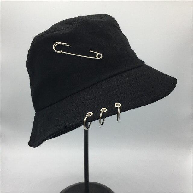 Vendita caldo 2017 BTS Modo K POP Anello di Ferro Secchio Cappelli berretto  stile popolare 100 262e7f0b703b