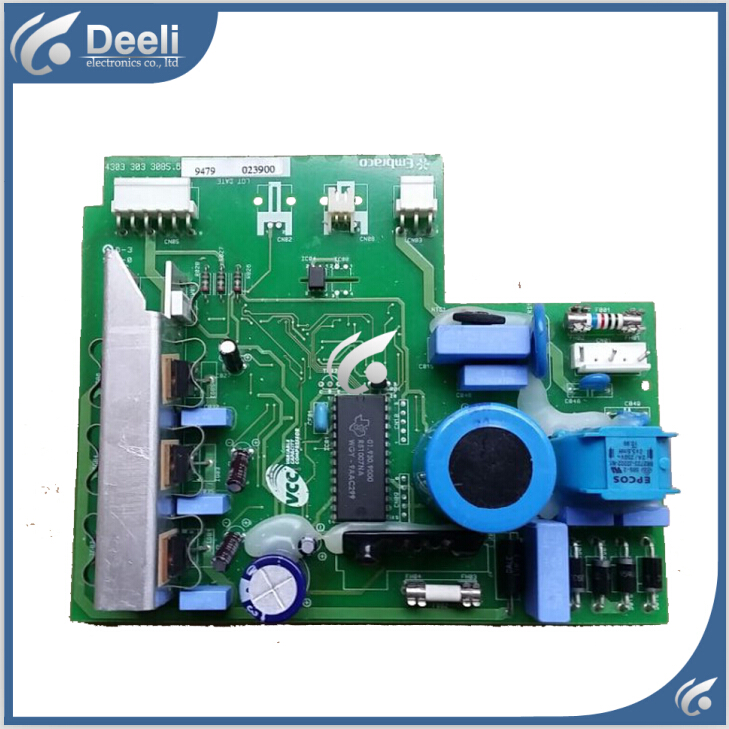 good working for Haier refrigerator Frequency inverter board driver board BCD-518W 568W 43033033085.6 95% new for haier refrigerator computer board circuit board bcd 219bsv 229bsv 0064000915 driver board good working