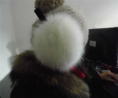 Free Shipping Oversized Earmuffs And Winter Earmuffs Imitation Raccoon Cute Fox Fur Ear Package Plush Earmuffs Warm Fur Special