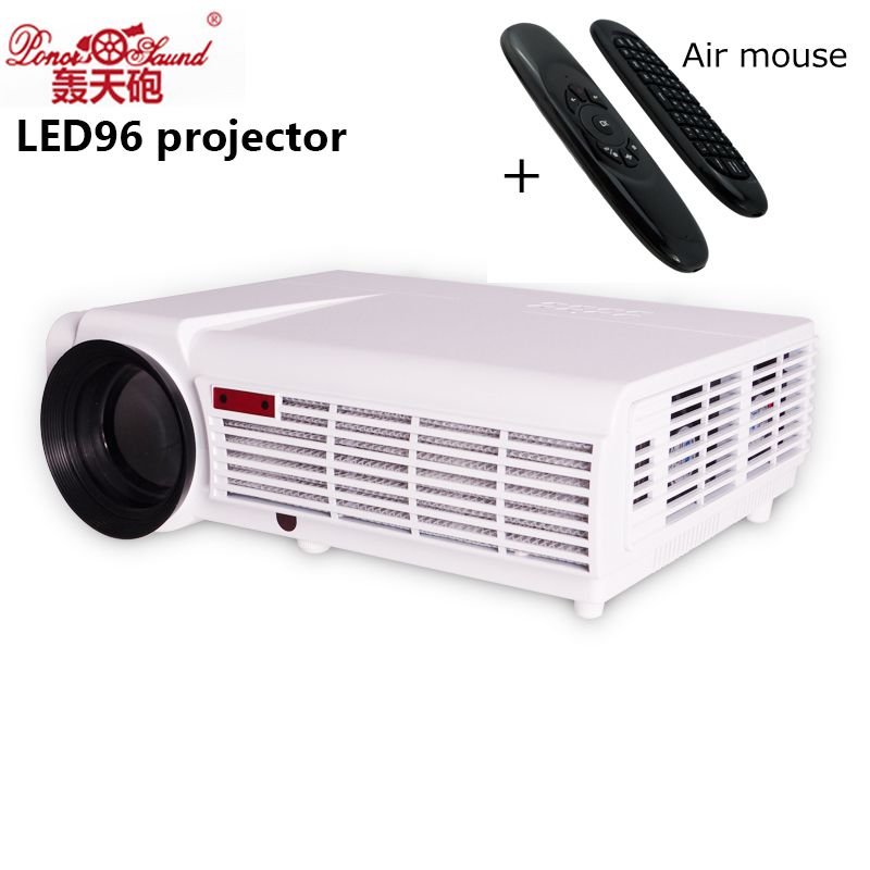 5500 Lumens Smart Lcd Tv Led Projector Full Hd Support: Poner Saund 5500 Lumens Lcd Tv Led Projector Full Hd