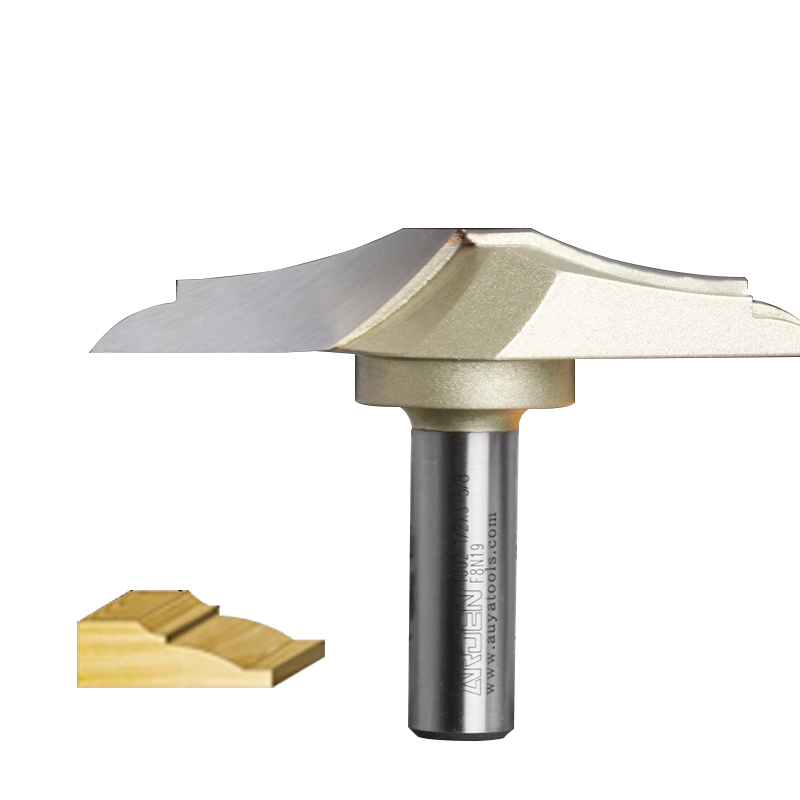Classical Plunge Arden Router Bit Woodworking Tool - 1/2*1-1/4 -7.5mm  Shank - Arden A1802038Classical Plunge Arden Router Bit Woodworking Tool - 1/2*1-1/4 -7.5mm  Shank - Arden A1802038