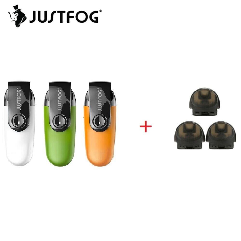 Offre Spéciale JUSTFOG C601 Kit avec Built-In 650 mah Batterie et 1.7 ml Pod Capacité anti-Poussière Cap Pod Vaporisateur ecig Kit VS MINIFIT Pod Kit