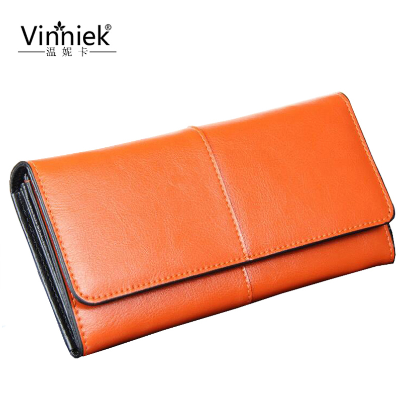 Real Genuine Leather Hasp Wallet Women Luxury Brand High Quality Long Clutch Coin Pocket Purse Fashion Designer Long Card Holder 2016 new brand short women s wallet high quality guarantee designer s high heeled shoes hasp purse for lady free shipping