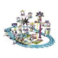 Lepin 41130 Parc D'attractions Rouleau Côte 1124 Pcs Mini Briques Ensemble Vente Legoing Amis Série 3D Blocs de Construction Jouets Pour enfants