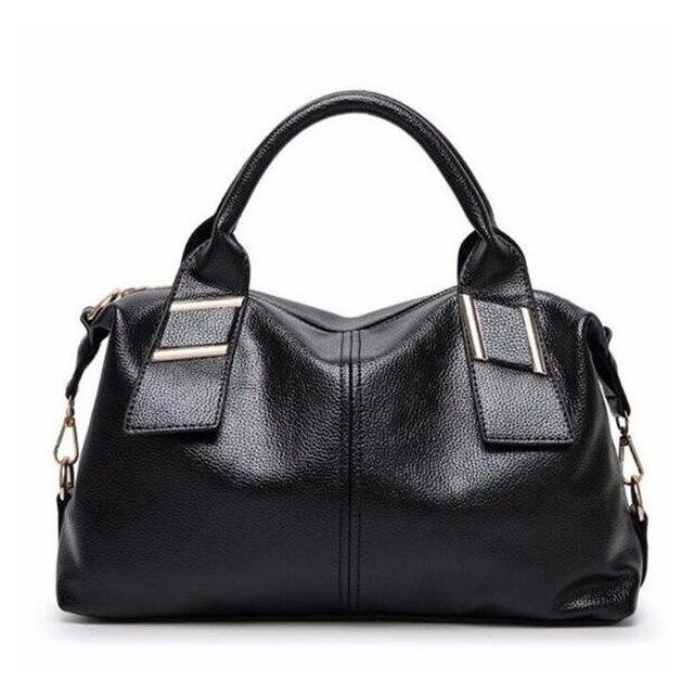 Lowest Price Genuine Leather Bag Women Messenger Bags Vintage Shoulder Handbags Female Cross