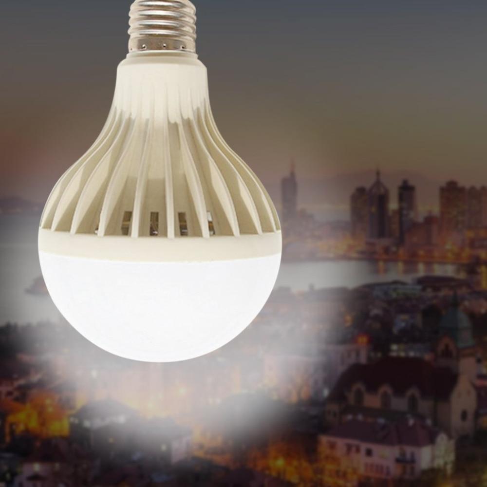 LED Lamp PIR Infrared Motion/Sound+Light Sensor Control 3W 5W 7W 9W 12W Automatic Smart Sensor Acousto Optic Induction Bulb