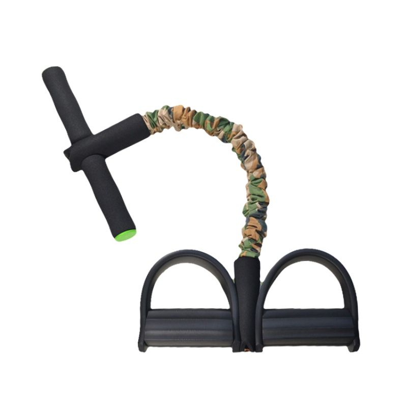 Training Device Stretch  Pedal Spring Pedal Exerciser Rope Yoga Gym Resistance Thin Fitness Exercise Sit-ups Accessories