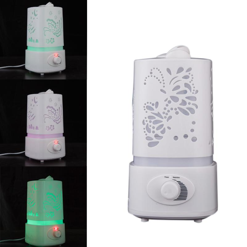 1.5L Ionizer Aromatherapy Ultrasonic Oil diffuser Air Humidifier Fogger Air Purifier Aroma Atomizer mist maker LED Night Light