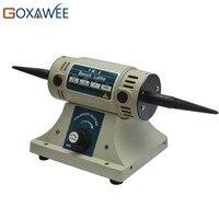 Electric Polishing Machine TM 2 Jewelry Bench Grinder Buffing Machine 320W 220V Electric Grinding Wheel Cutting Machine