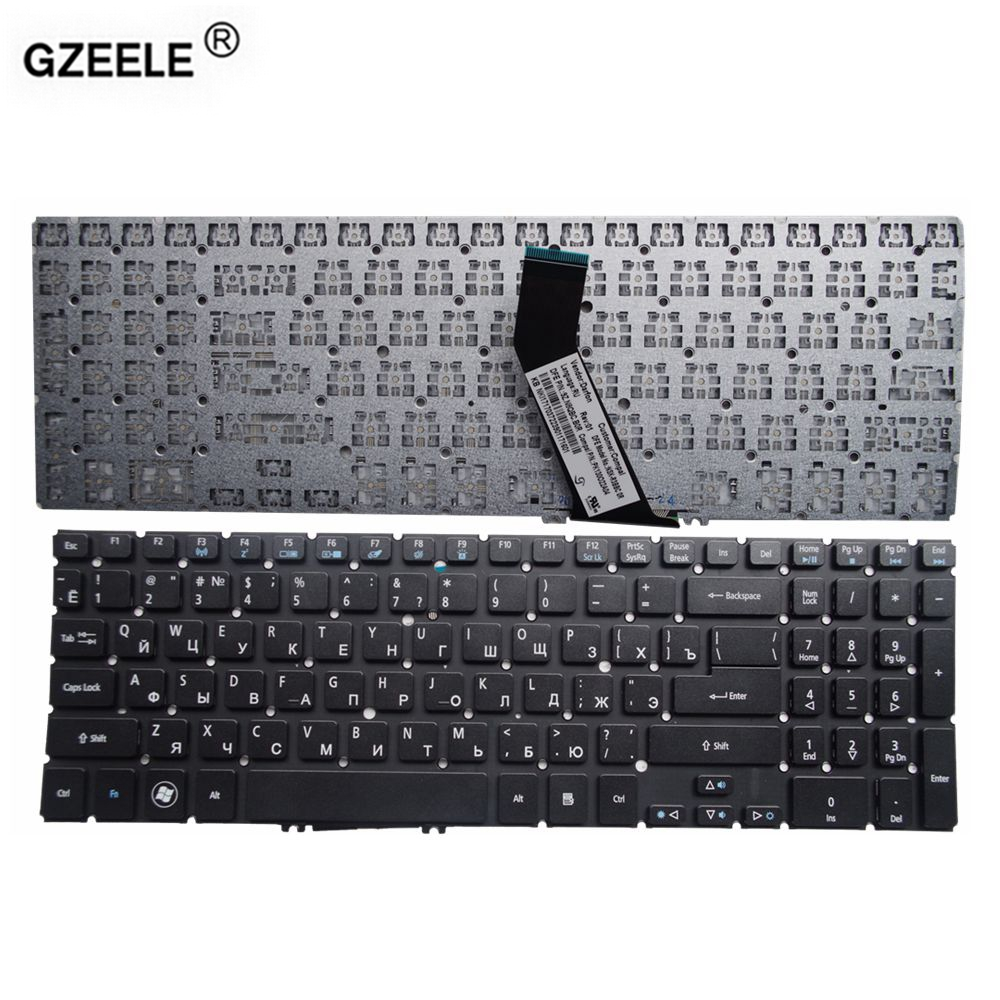 GZEELE teclado do portátil para Acer Aspire V5 V5-531 V5-531G V5-551 V5-551G V5-571 V5-571G V5-571P V5-571PG V5-531P RU M5-581 Q5LJ1