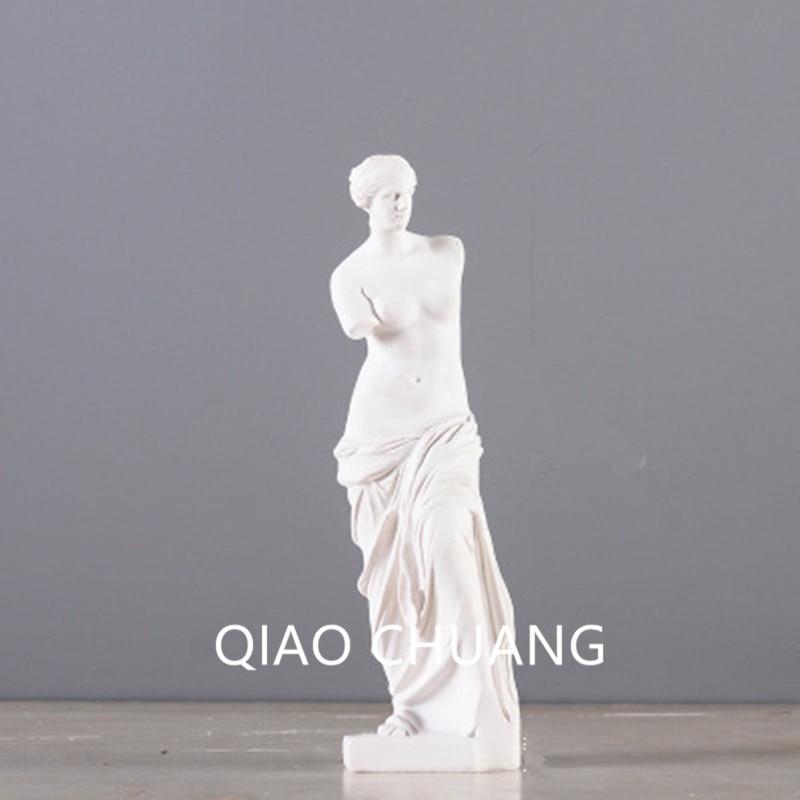 Twelve Olympians Among Venus Orchards Elves Plaster Model Sculpture Colophony Crafts Fine Art Sketch G706