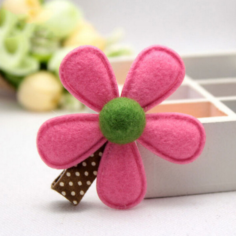 Hot selling girl hairclip mini cloth flower hair clip children hot selling girl hairclip mini cloth flower hair clip children hairpins diy baby girl hair accessories 1piece 5 colors in hair accessories from mother mightylinksfo