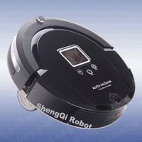 OEM A320 New Automatic Robot Vacuum Cleaner With 4 In 1 Multifunction Black