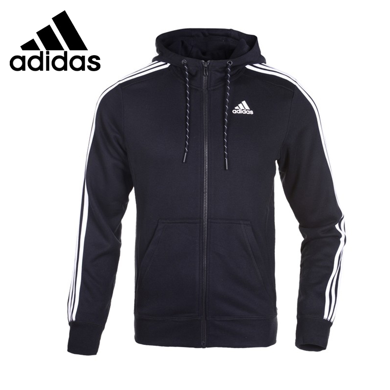 цена Original Adidas performance  men's jackets AB7407 Hoodie Sportswear онлайн в 2017 году