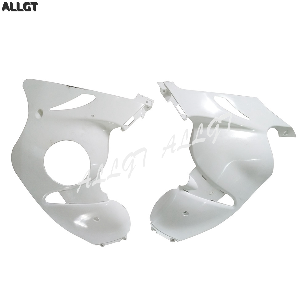 Lower Left Side Fairing & Right Side Fairing Cover fit for SUZUKI 08-14 GSX1300R Hayabusa Unpainted WhiteLower Left Side Fairing & Right Side Fairing Cover fit for SUZUKI 08-14 GSX1300R Hayabusa Unpainted White