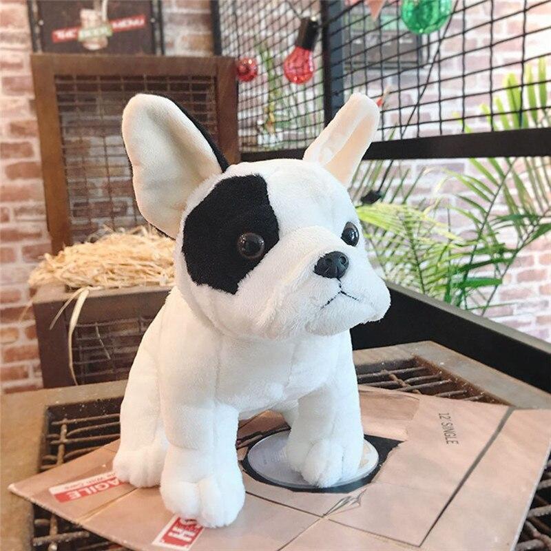 Dog Plush Toy Bulldog Bull Terrier Shepherd Soft Stuffed Dolls for Children Kits Toys Great Christmas Gifts for Kids Children
