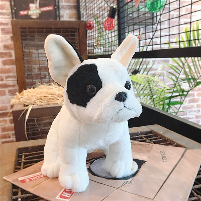 Dog Plush Toy Bulldog Bull Terrier Shepherd Soft Stuffed Dolls for Children Kits Toys Great Christmas Gifts for Kids Children