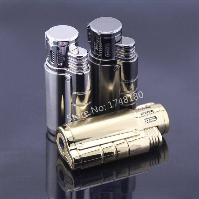Triple Flame Kitchen Torch Jet 1300 C Butane Lighter Gas Refillable Fuel  Welding Soldering Zb957 Windproof Smoking Cigar Lighter