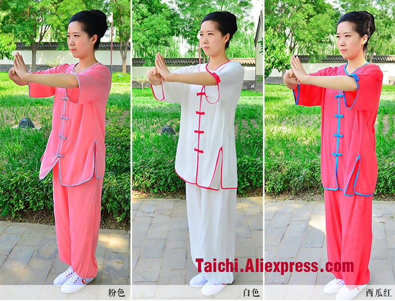 New Summer Flax Tai Chi Clothing Taijiquan Female Clothing Short Sleeved  Uniform Kung Fu   Clothing Wushu-clothing