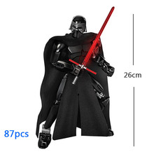 Star War Buildable Figure Building Block Toy Kylo Ren Chewbacca Darth Vader Boba Jango Fett Stormtrooper Compatible with lego