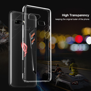 For Asus ROG Phone Case Soft Slim Silicon Thin Lite Transparent rog game phone Cover Bumper TPU Protect Anti-Fall Crystal Cases(China)