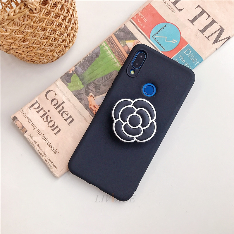 3D Cartoon Silicone Phone Standing Case for Xiaomi And Redmi Phones 19