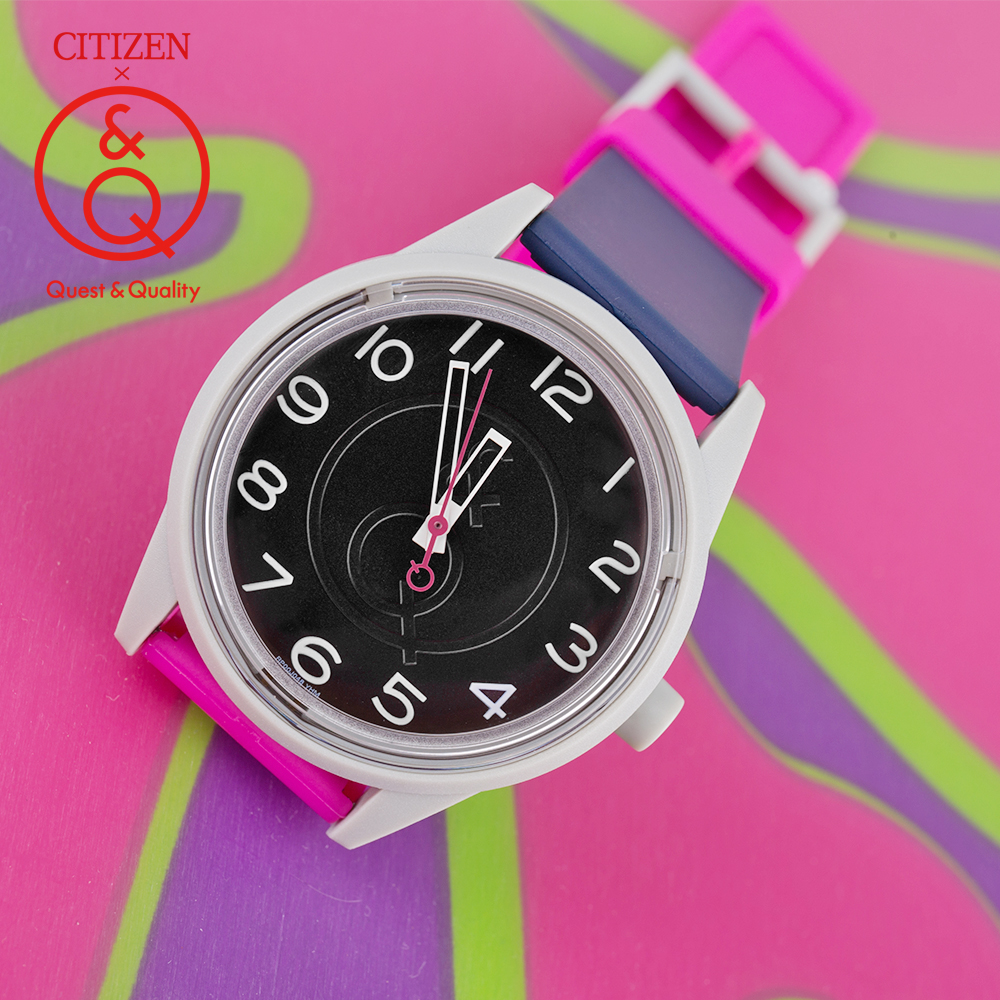 Citizen Q&Q watch women ladies Gift Clock Top Luxury Brand Waterproof Sport Quartz solar women watches Neutral watches relogio Women's Watches     - title=