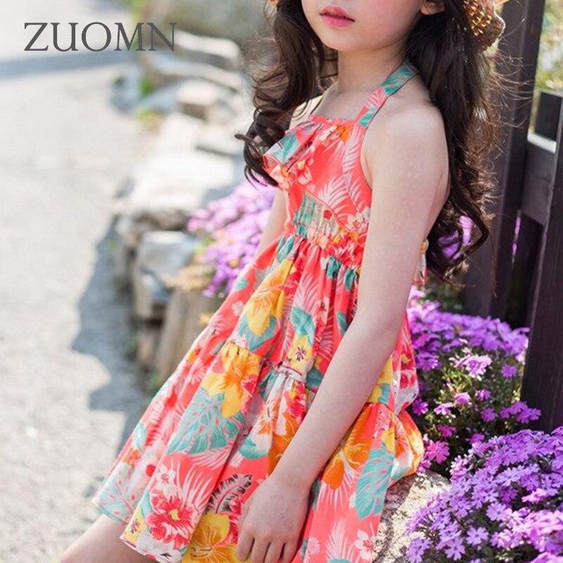 d8f7ea5e2 Caliente Niñas vestido Encaje flor verano Vestidos Bebé Ropa niños chica  Beach dress princesa party custume gh379