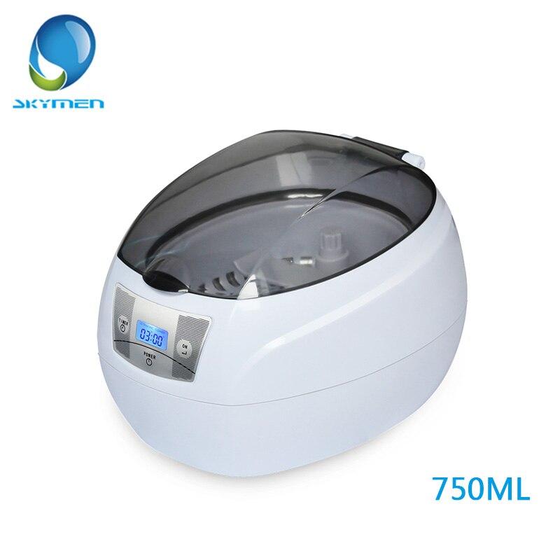 Skymen, ультразвуковой Cleaner 35 Вт ультразвуковая ванна 0.75L для маникюр инструменты
