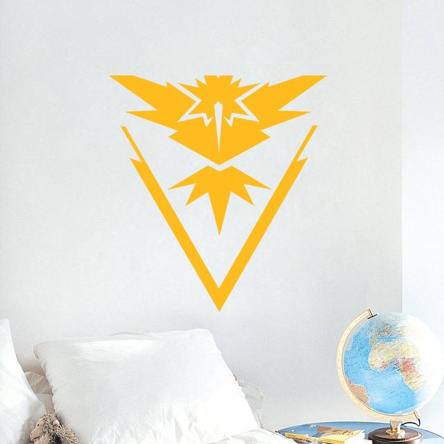 Pokemon Go Team Valor Mystic Instinct Stickers