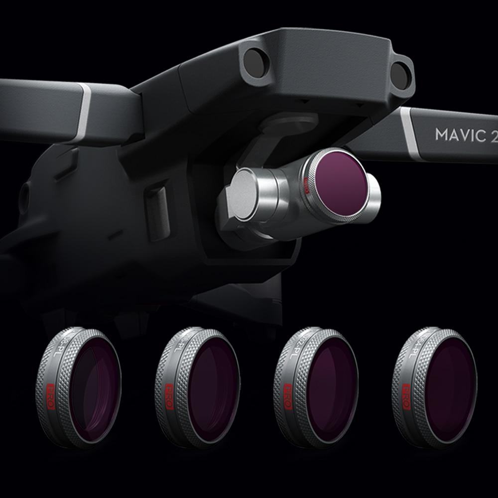 PGYTECH Mavic 2 Zoom Filter Camera Lens Filters set ND8 16 32 64 ND-PL Filter Kit drone parts for DJI Mavic 2 filter цены онлайн