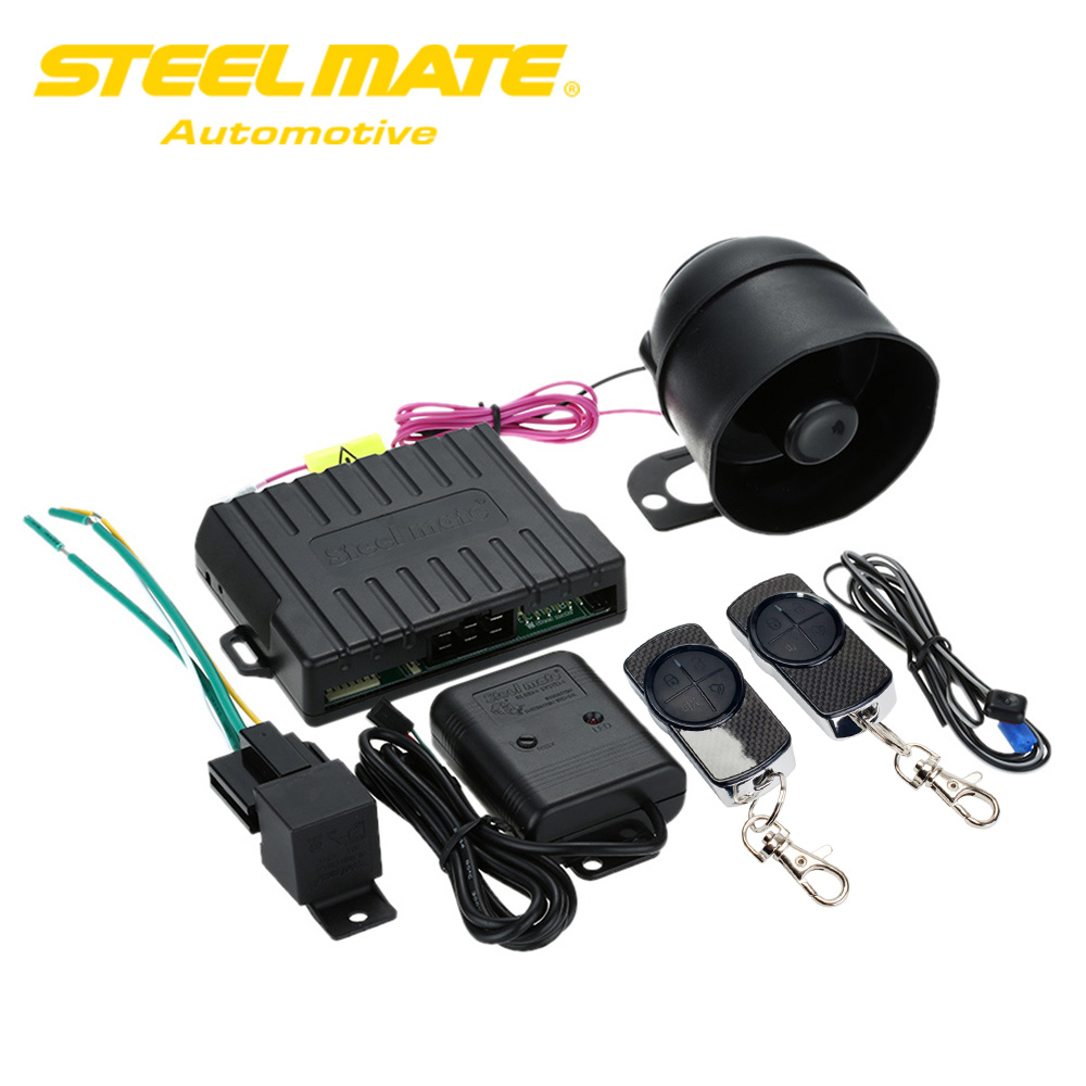hight resolution of steelmate car alarm system match central locking system window closer anti hijacking remote release carbon