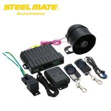 Steelmate Auto Alarm Systeem Match Centrale Vergrendeling Venster Dichter Anti Hijacking Remote Release Carbon Fiber Zender