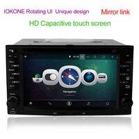 Android 4 44 Car DVD Player GPS Navi With Autoradio Bluetooth For Kia Sportage CEED Sorento