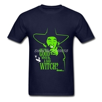 Brand Clothing Men S Shirts Normal Witch Of The West Tee Latest Short Sleeve Adult T