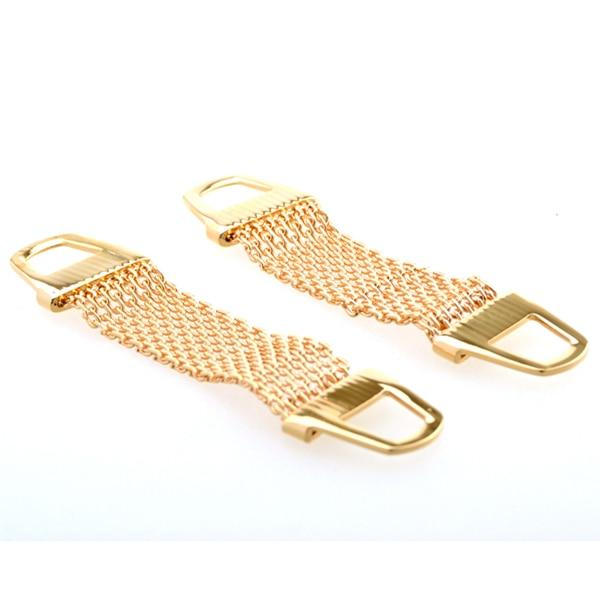 Silver Cufflinks For Mens Gold Cuff Link Chain Fashion Brand Shirt Wedding Groom Gift(not include cufflinks,just chain)