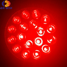 Все красные 660nm E27 par 38 Светодиодный светильник для выращивания 54 Вт для выращивания в гидропонике светильник ing и аквариумный риф Коралловое освещение Прямая поставка