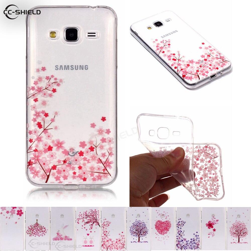 Galleria fotografica TPU Soft Case for Samsung Galaxy J3 2016 J320 J320F J320H Painting Phone Case SM-J320H SM-J320F SM-J320Fn Silicone Phone Cover