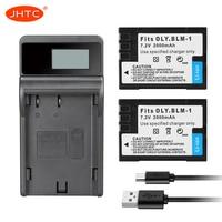 PS-BLM1 סוללה המצלמה 2000mAh עבור אולימפוס C-5060 C-7070 C-8080 E-30 E-300 E-330 E-500 E-510 E-520 E3 E30 BLM1 8.4V מטען